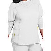 WonderWink Plus Curved V-neck Tops