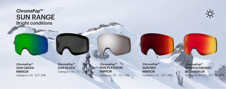 ChromaPop Sun goggle lenses