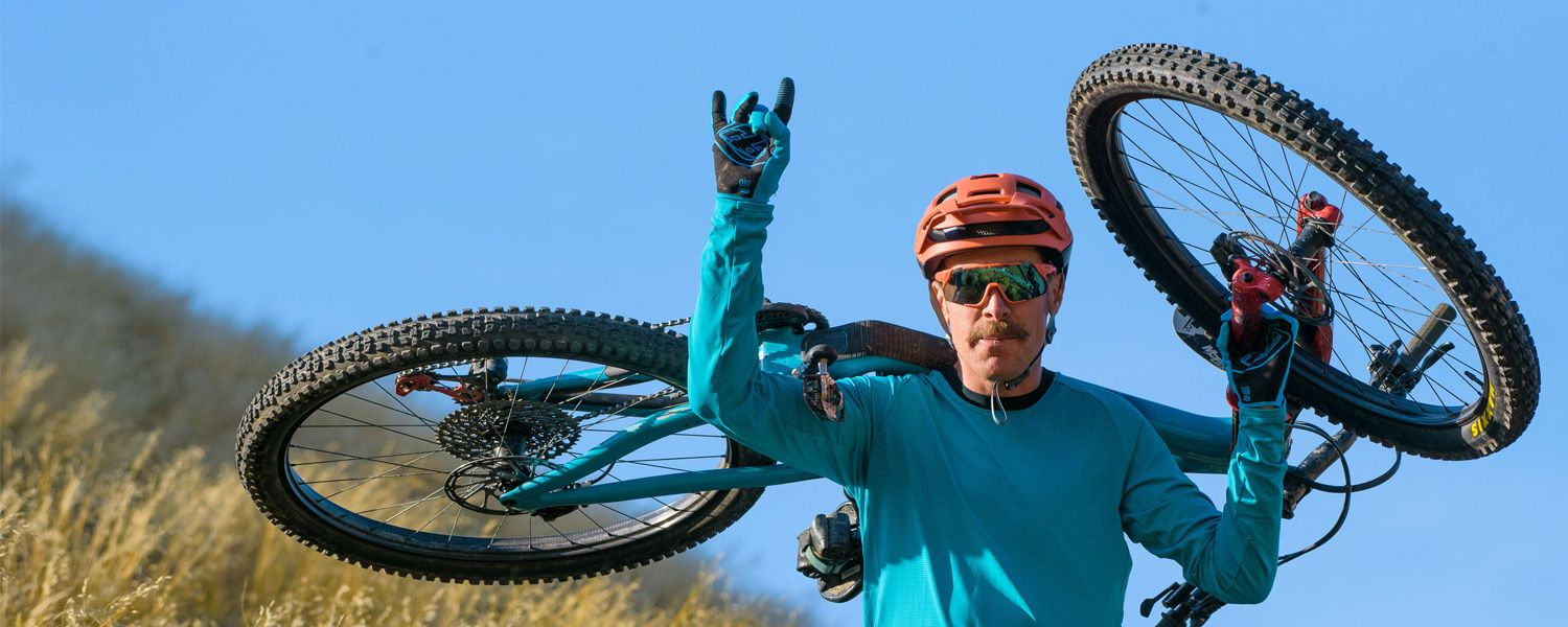 Ultimate Integration. Our helmets and eyewear integrate seamlessly for trail-ready performance.