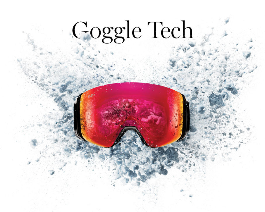 Smith Optics Goggle Technology page