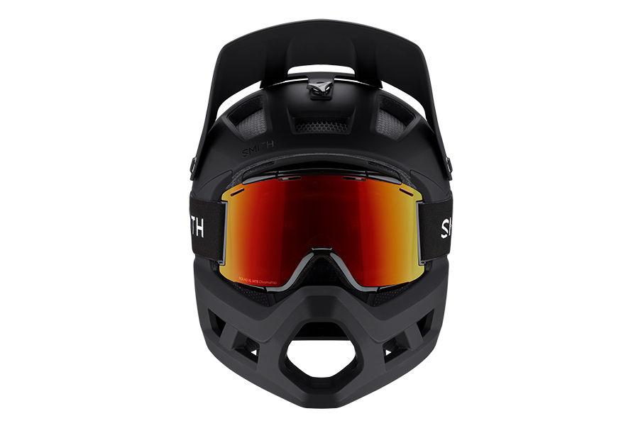 Mainline helmet goggle integration front view