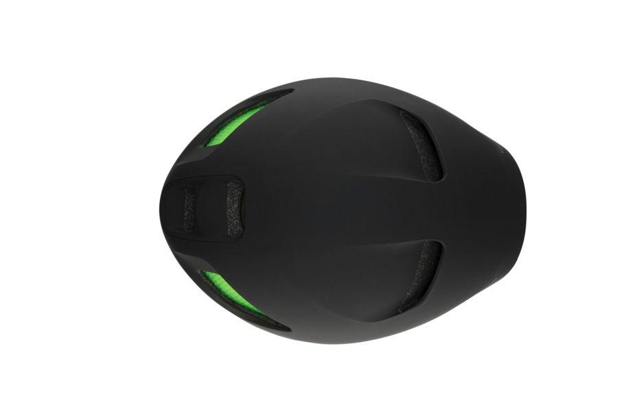 Ignite helmet top view