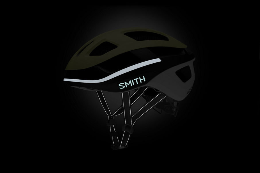 Trace helmet glow in the dark