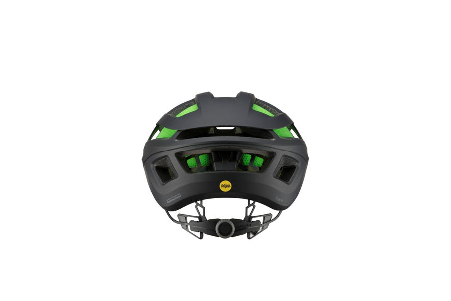 Trace helmet rear view