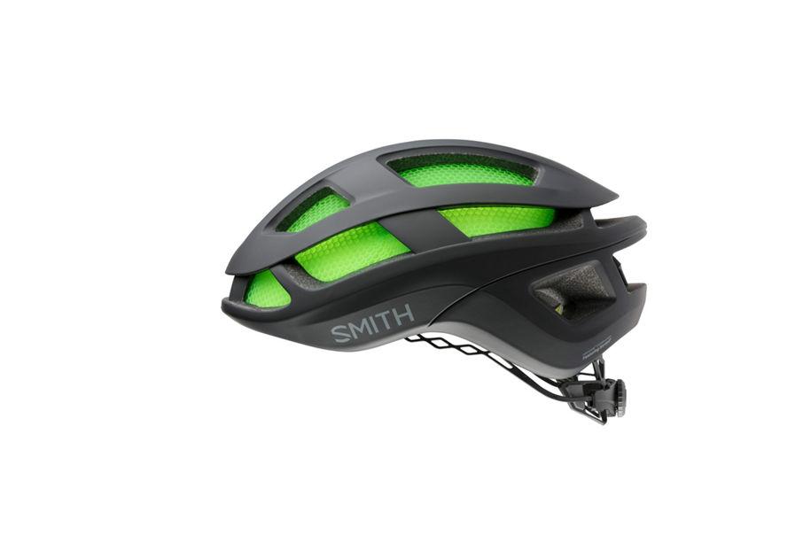 Trace helmet side view