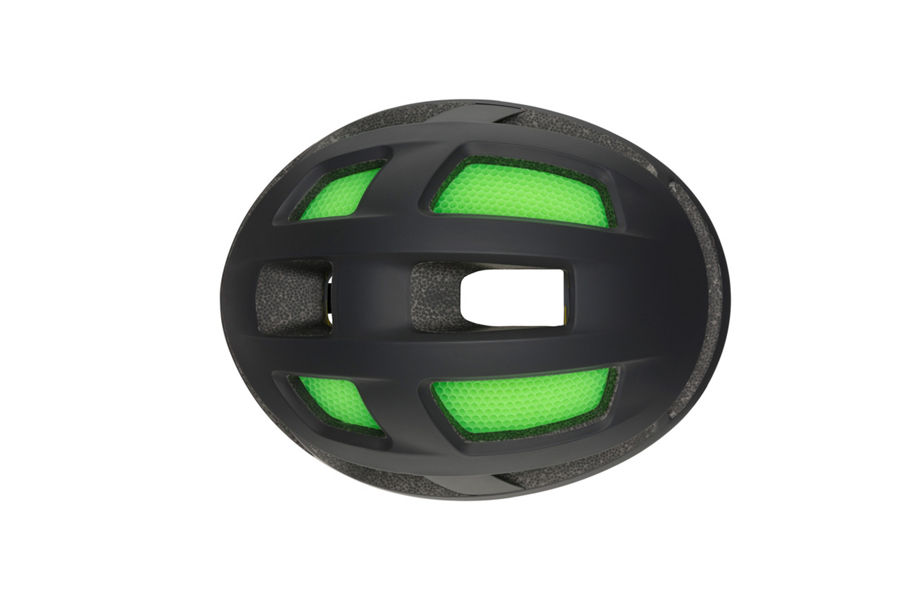 Trace helmet top view