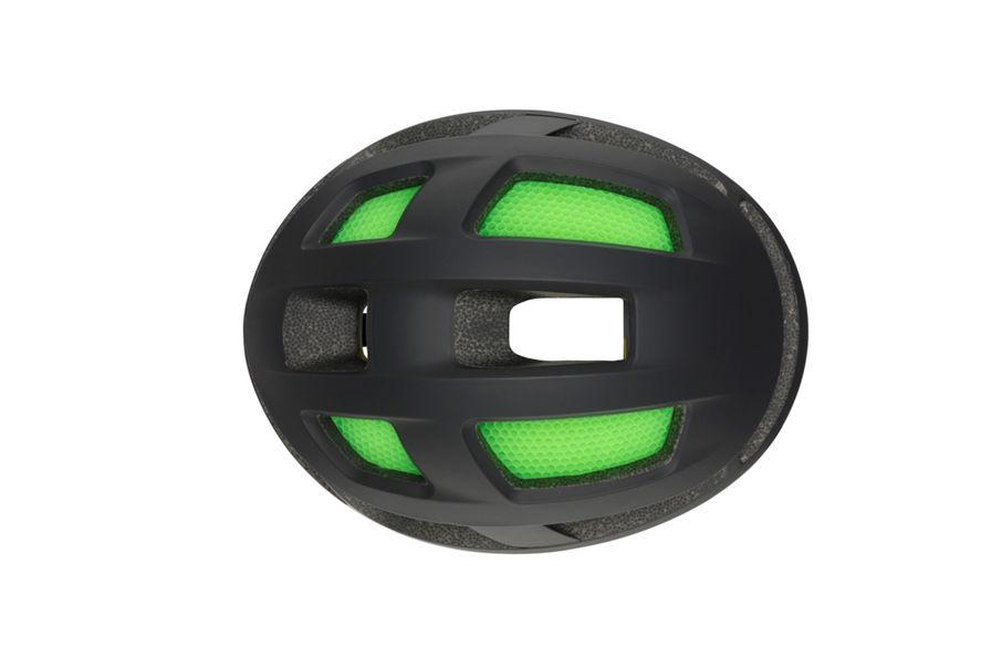 Trace helmet top view