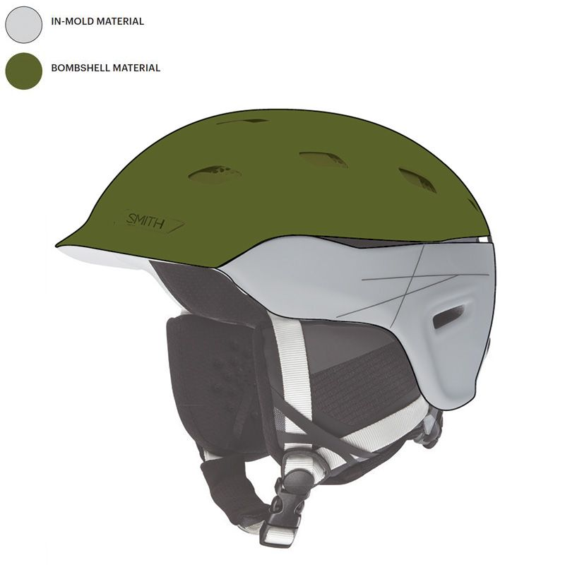 Smith Variance Helmet Hybrid In-Mold-Schutz