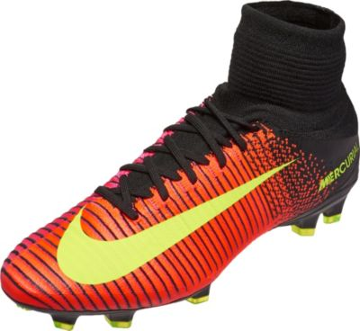 Nike Mercurial Superfly V FG Soccer Cleats - Total Crimson Volt