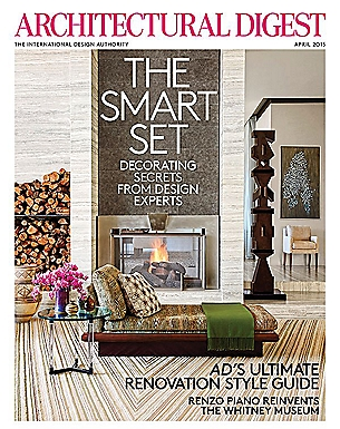 ARCHITECTURAL DIGEST - APRIL 2015