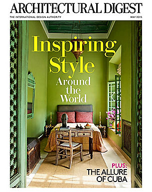 ARCHITECTURAL DIGEST - MAY 2015
