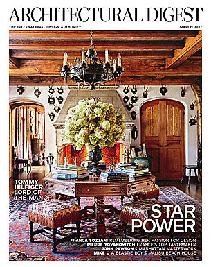 ARCHITECTURAL DIGEST - MARCH 2017