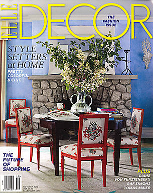 Elle Decor - Oct 2015