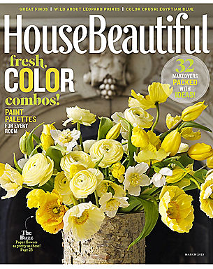HOUSE BEAUTIFUL - MARCH 2015