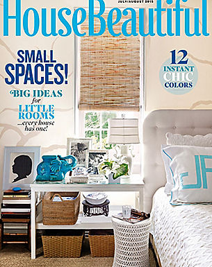 HOUSE BEAUTIFUL - JULY/AUG 2015