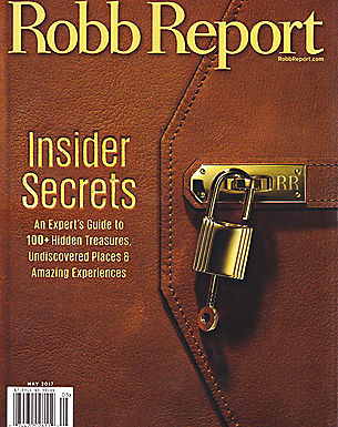 ROBB REPORT - MAY 2017