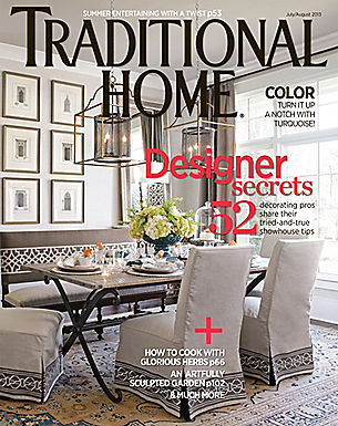 TRADITIONAL HOME - JULY/AUG 2013