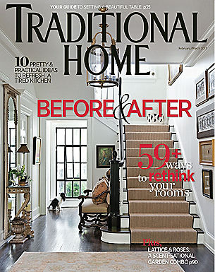 TRADITIONAL HOME - FEB/MARCH 2013
