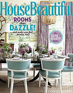 HOUSE BEAUTIFUL - NOVEMBER 2015