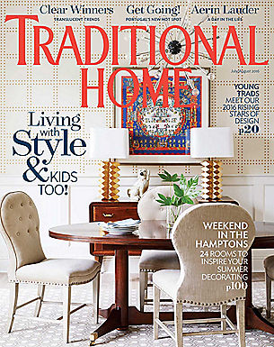 TRADITIONAL HOME - JULY/AUG 2016