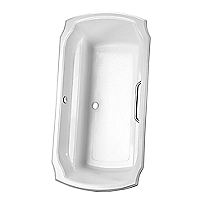 Guinevere&reg;      6' Soaker Bathtub <br>71-1/2