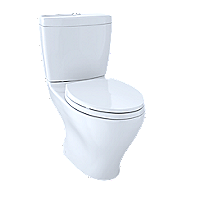 "Aquia® Dual Flush Two-Piece Toilet, 1.6GPF & 0.9GPF, 10"" Rough-in, Elongated Bowl"