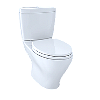 Aquia II Dual Flush Two-Piece Toilet, 1.6 GPF & 0.9 GPF, Elongated Bowl