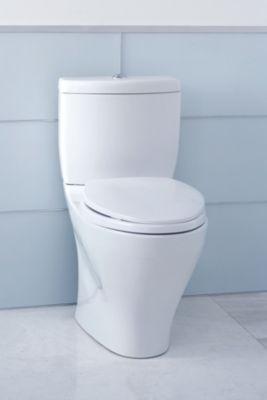 aquia ii dual flush twopiece toilet 16 gpf u0026 09 gpf elongated bowl