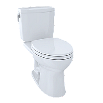 Drake® II 1G Two-Piece Toilet, Elongated Bowl, 1.0 GPF