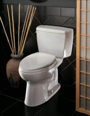 eco drake twopiece toilet 128 gpf ada compliant elongated bowl