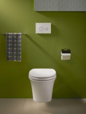 Maris® Wall-Hung Dual-Flush Toilet, 1.6 GPF u0026 0.9 GPF, Elongated Bowl