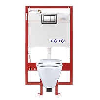 Aquia® Wall-Hung Toilet & DUOFIT™ In-Wall Tank System, 1.6 GPF & 0.9 GPF, Elongated Bowl - PEX Supply
