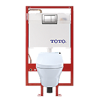 MH Connect+ C200 Wall-Hung Toilet - 1.28 GPF & 0.9 GPF - Copper Supply