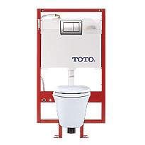 Maris® Wall-Hung Toilet & DUOFIT™ In-Wall Tank System, 1.6 GPF & 0.9 GPF, Elongated Bowl - PEX Supply