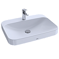 "Arvina™ 23-5/8"" Rectangle Vessel Lavatory"