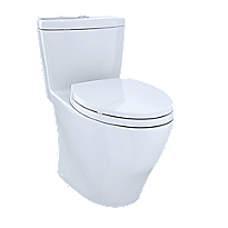 Aquia® One-Piece Toilet, 1.6 GPF & 0.9 GPF, Elongated Bowl