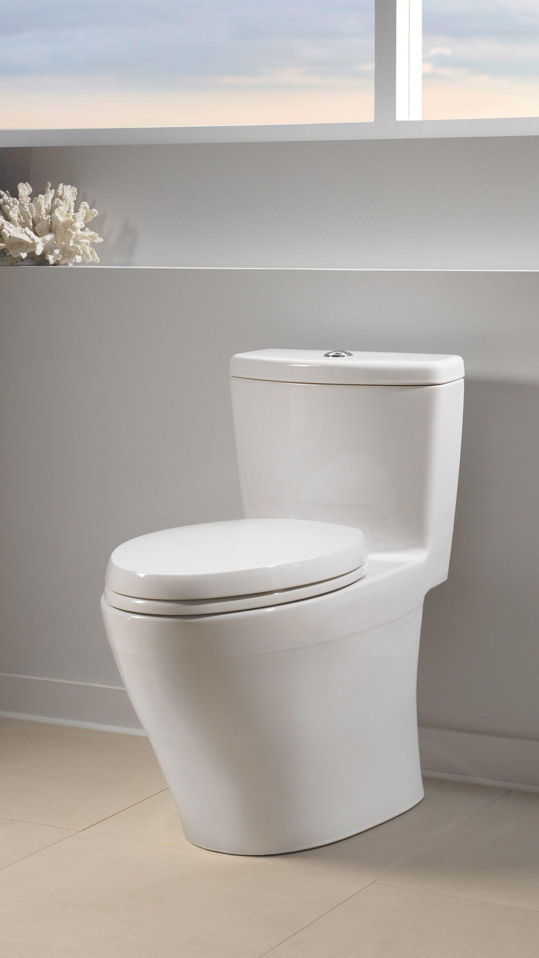 Aquia® Onepiece Toilet, 16 Gpf & 09 Gpf, Elongated Bowl