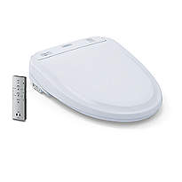 Washlet® S300e Toilet Seat - Round with ewater+