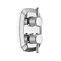 Guinevere®      Thermostatic Mixing Valve with One-Way Volume Control and Lever Handles