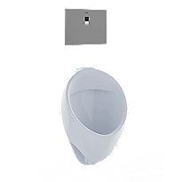 Commercial Washout Ultra High-Efficiency Urinal, 0.125 GPF - ADA