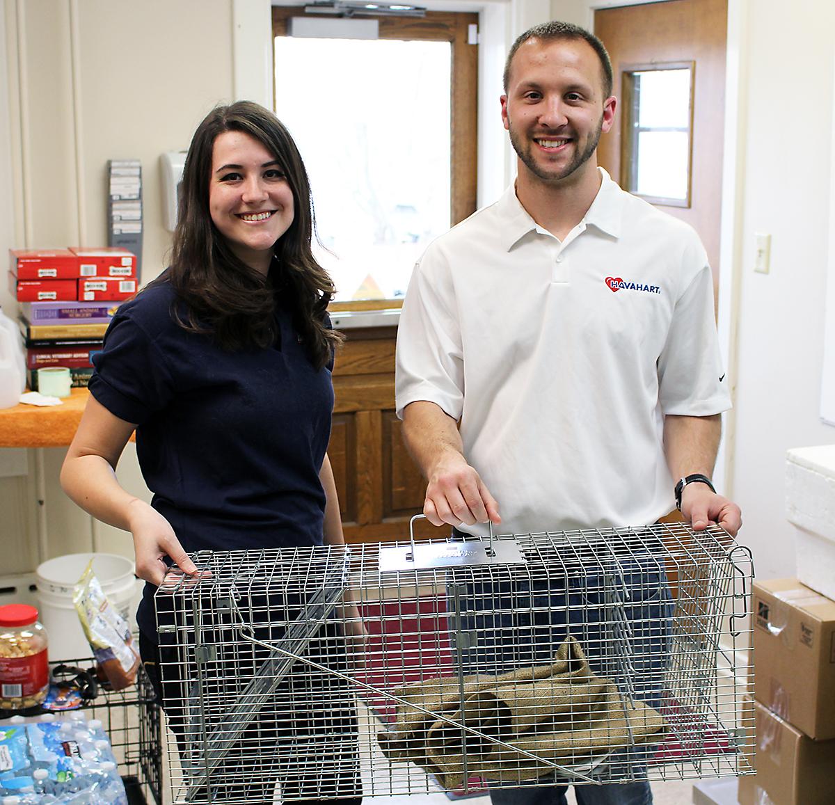 havahart donates feral cat trap