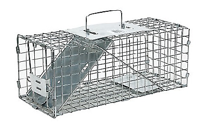 Havahart animal cage trap, one door