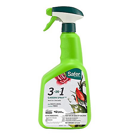 Safer 3-in-1 Spray for crawling insects and fungi