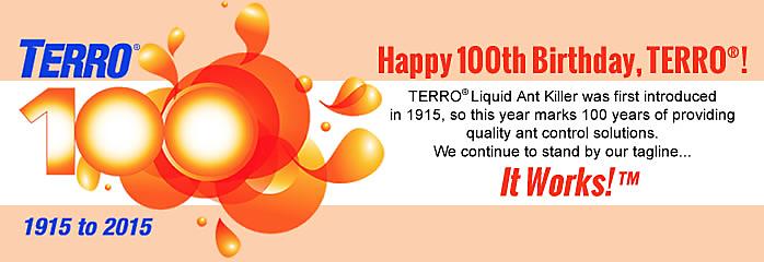 TERRO Turns 100
