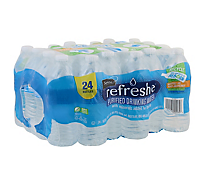Refreshe Purified Water - 24-16.9 Fl. Oz.