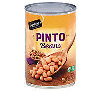 Signature Kitchens Beans Pinto - 15.5 Oz
