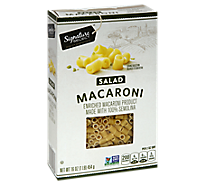Signature SELECT Pasta Salad Macaroni Box - 16 Oz