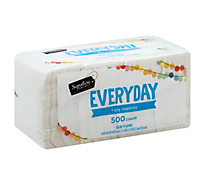 Signature Home Napkins Everyday 1-Ply - 500 Count