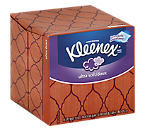 Kleenex Tissue White 3-Ply Ultra Soft - 75 Count