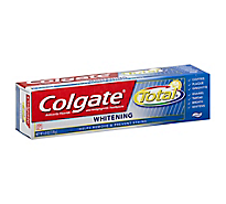 Colgate Total Toothpaste Anticavity Fluoride and Antigingivitis Whitening Paste - 6 Oz